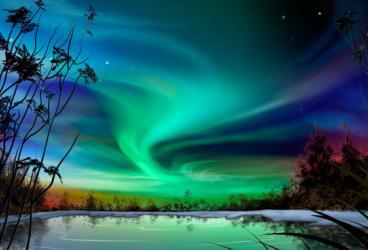 <p><strong>AURORA BOREALE</strong>, meraviglia naturale</p>